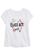 Kate Spade class act graphic tee (Toddler & Little Girls)