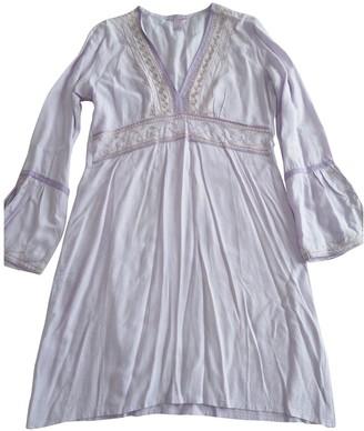 Calypso St. Barth Purple Cotton Dress for Women