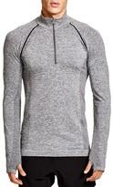 HPE Cross Seamless Quarter Zip Sweatshirt
