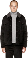 Levi's Black Corduroy Good Sherpa Trucker Jacket