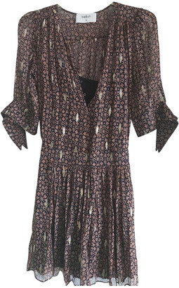 BA&SH Spring Summer 2019 Brown Viscose Dresses