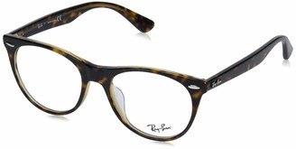 Ray-Ban Unisex's Rx2185vf Asian Fit Square Eyeglass Frames Prescription Eyewear