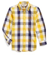 Nordstrom Boy's Plaid Dress Shirt