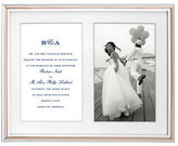 Kate Spade Rosy Glow Double Invitation Frame