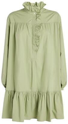 Claudie Pierlot Ruffled A-Line Dress