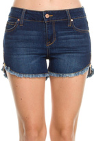 Celebrity Pink Frayed Denim Shorts