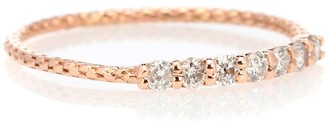 Jacquie Aiche Vintage Waif 14kt rose gold diamond ring