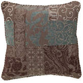 Croscill Classics Catalina Brown Square Decorative Pillow