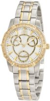 Invicta Women's 1778 Wildflower Mother-Of-Pearl Two-Tone Stainless Steel Watch