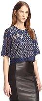 Allison Collection Women's Lace Crop Top
