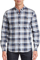Fred Perry Polka Dot Check Sport Shirt