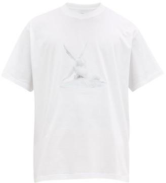 Burberry Cupid's Kiss-print Cotton T-shirt - White