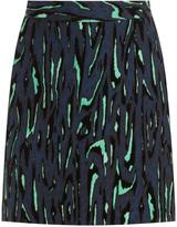 Proenza Schouler Flock Print Mini Skirt