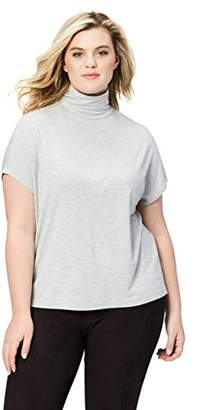 Amazon Brand - Daily Ritual Women's Plus Size Sleeveless Slouchy Pullover Sweater