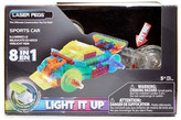 Laser Pegs 8-In-1 Power Blocks Sports Car Construction Toy