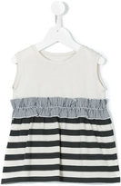 Douuod Kids - panelled top - kids - Cotton - 8 yrs