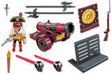 Playmobil NEW Interactive Red Cannon with Buccaneer