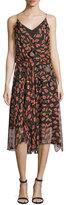 Diane von Furstenberg Benita Embellished Slip Dress, Glissade Fuchsia