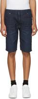 Diesel Blue Denim Krooshort-Ne Jogg Shorts