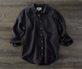 Madda Fella The Ernest Linen Shirt - India Ink