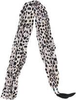 Roberto Cavalli cheetah print scarf