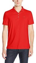 Calvin Klein Men's Liquid Cotton Solid Polo Shirt with Pocket