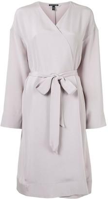 Eileen Fisher Wraparound-Style Midi Coat