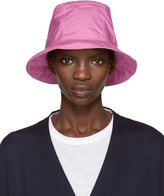 Sacai Pink Overdyed Bucket Hat