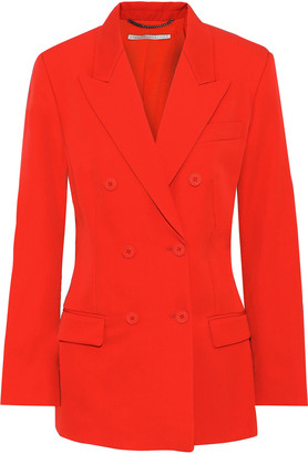 Stella McCartney Nicola Double-breasted Wool-twill Blazer