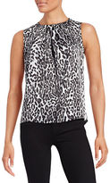 Karl Lagerfeld Paris Pleated Sleeveless Top