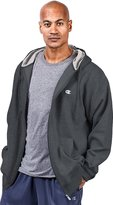 Champion Big & Tall Men's Zip Fleece Hoodie_Charcoal_XXXX-Large Tall