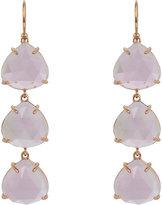 Irene Neuwirth Women's Gemstone Triple-Drop Earrings