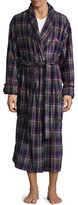 Tommy Bahama Plaid Plush Robe