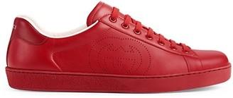 Gucci Ace Sneaker With InterlockingG