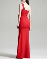Roland Mouret Azul One-Shoulder Gown