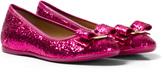 Salvatore Ferragamo Pink Glitter Varina Pumps