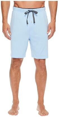 Nautica Knit Sleep Shorts (Grey Heather) Men's Pajama
