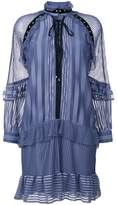 Just Cavalli ruffled shirt dress