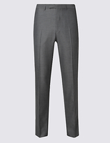 M&S Collection Grey Slim Fit Trousers