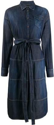DSQUARED2 Structured Shirt Denim Dress