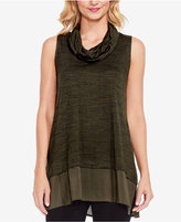 Vince Camuto TWO By Layered-Look Space-Dyed Tunic
