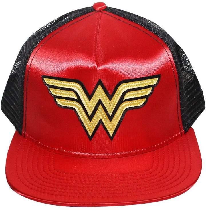 Bioworld Women's Wonder Woman Logo Trucker Hat O/S