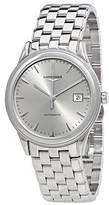 Longines Men's Steel Bracelet & Case Automatic Grey Dial Analog Watch L48744726