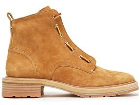 Rag & Bone Cannon Lace-up Suede Ankle Boots