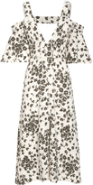 Schumacher Dorothee Khaki Close To Nature Dress