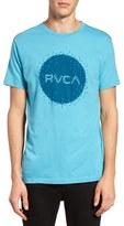 RVCA Digi Motors Graphic Crewneck T-Shirt