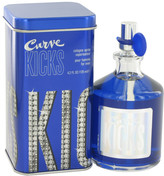 Liz Claiborne Curve Kicks by Eau De Cologne Spray for Men (4.2 oz)