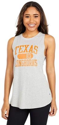 Champion College Texas Longhorns University 2.0 Tank Top (Oxford Grey) Women's Clothing