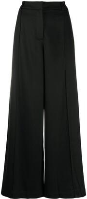 Andrea Ya'aqov Wide Leg Slit Trousers