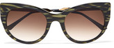 Thierry Lasry Bunny Cat-Eye Acetate Sunglasses